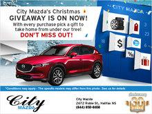 City Mazda's Christmas Giveaway - On Now!