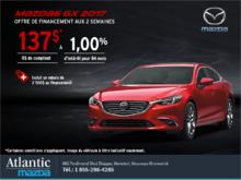 Obtenez la Mazda6 2017 aujourd'hui!
