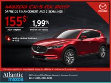 Obtenez le Mazda CX-5 2017 aujourd'hui!