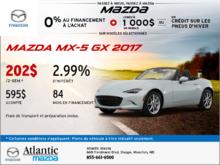 Mazda MX-5 GX 2017!