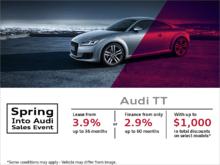 Get the 2018 Audi TT Today