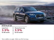 Drive the Audi Q5 today!