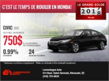 Louez la Honda Civic 2017