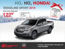 Louez la Honda Ridgeline 2019!