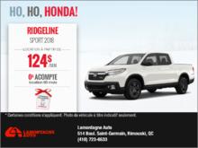 Le nouveau Honda Ridgeline 2018!