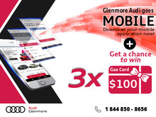 Win Big With Glenmore Audi's New Mobile App!