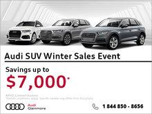 Audi SUV Winter Sales Event!