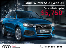 Get the Audi Q3 today!