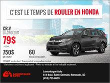 Le Honda CR-V 2017 !