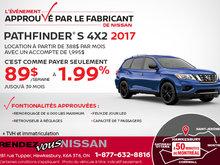 Louez le Nissan Pathfinder 2017 aujourd'hui!
