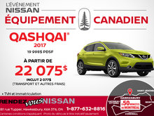 Nissan Qashqai 2017 en rabais