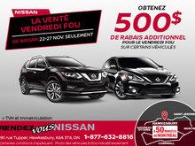 La Vente Vendredi Fou de Nissan