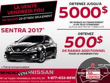 Vendredi fou - Sentra Turbo 2017 en rabais
