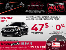 Nissan Sentra 2017 en rabais