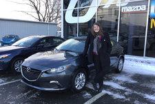 Love my new Mazda 3!!