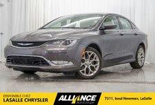 2015 Chrysler 200 C | AWD | CAMERA | GPS |