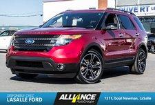 Ford Explorer SPORT | AWD | CUIR |TOIT |SIÈGES CHAUFF|CAMERA|GPS 2014