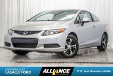 Honda Civic Cpe LX I BLUETOOTH | A/C | PORTES VITRES ELECTRIQUE | 2012