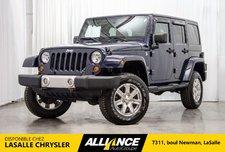 Jeep Wrangler Unlimited SAHARA I LIFT KIT | CUIR | SIEGES CHAUFFANTS | 2013