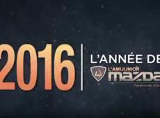 2016 l'année de l'ami Junior Mazda!