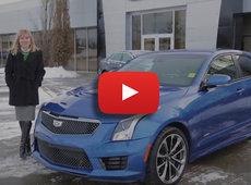 Cadillac ATS-V Driving Experience