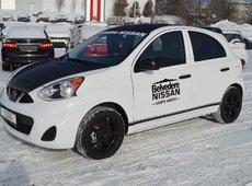 2017 Nissan Micra MICRA S AUTOMATIQUE AIR CLIMATISÉE DEMONSTRATEUR