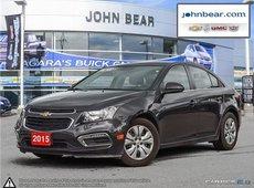 2015 Chevrolet Cruze 1LT POWER SLIDING SUNROOF, BACK UP CAMERA