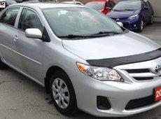 2012 Toyota Corolla CE LOW LOW KILOMETERS