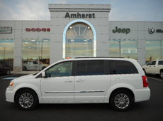 2016 Chrysler Town & Country Touring POWER SLIDING DOORS AND TAILGATE