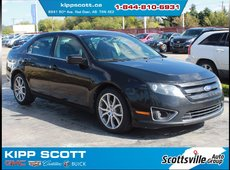 2011 Ford Fusion SE Sport, Cloth, Cruise, Spoiler, Sony Audio