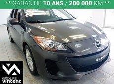 Mazda 3 GX **AUTOMATIQUE** 2013