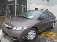 Honda Civic Sdn DX-G-Garantie gratuite de 10 ans ou 200.000km 2010