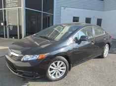 Honda Civic Sdn Ex-L-Garantie jusqu'a 200.000km ou 10 ans 2012