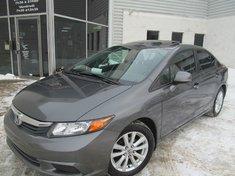Honda Civic Sdn Ex-L-Cuir-Navigation-Bluetooth 2012