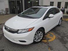 Honda Civic Ex-Toit ouvrant-Bluetooth 2012