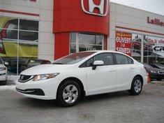 2014 Honda Civic LX INCLUS 8 PNEUS