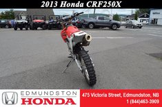 2013 Honda CRF250X