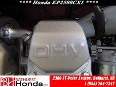 2016 Honda EP2500CX1
