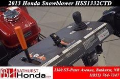 2013 Honda HSS1332TCD