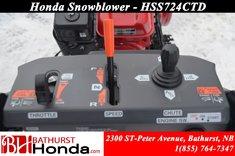 Honda HSS724TCD  9999