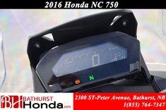 Honda NC750 XDG automatic transmission 2016