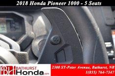 Honda Pioneer 1000 5 seats 2018