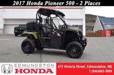 Honda Pioneer 500 2 Seats 2017