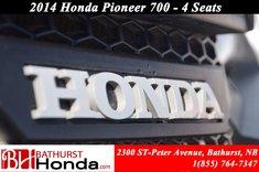 Honda Pioneer 700 4 Seats 2014