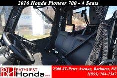 Honda Pioneer 700 4 Seats 2016