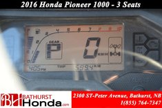 2016 Honda Pioneer 1000 - 3 Seats