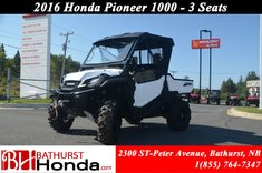 Honda Pioneer 1000 - 3 Seats 2016