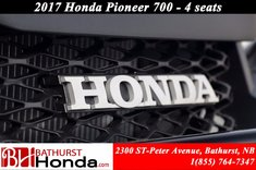 Honda Pioneer700 Deluxe 2017