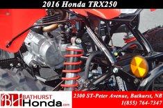 Honda TRX250 X 2016