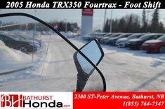 2005 Honda TRX350 Foot Shift